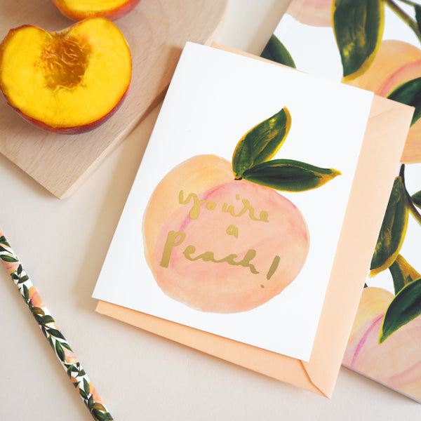 You're a Peach card - Annie Dornan Smith