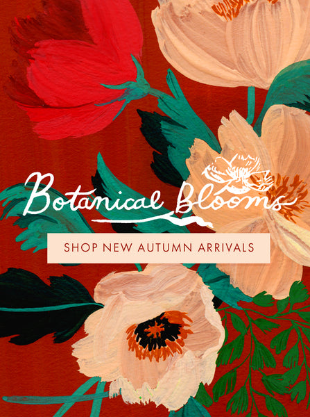Botanical Blooms - Shop the New Autumn Collection Now