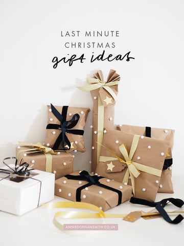 last minute gift ideas - baking, booze and other christmas gift ideas! | Annie Dornan Smith - Illustrated Home and Paper Goods UK | anniedornansmith.co.uk