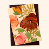 Illustrated floral love/friendship card