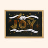 JOY Gold Christmas Wall Art