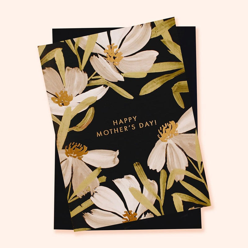 floral mother's day card UK
