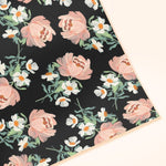 Peony Patterned Floral Wrapping Paper Sheet