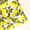 illustrated lemon pattern gift wrap wrapping paper