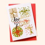 Christmas Presents Illustrated Christmas Card