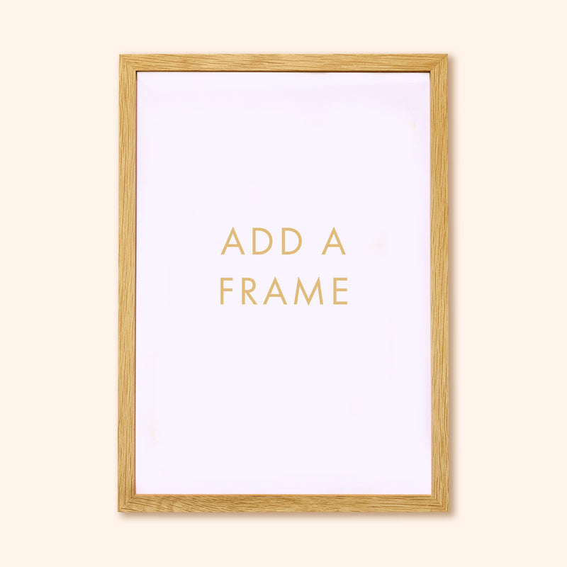 Oak A-Size Frame (frame only)