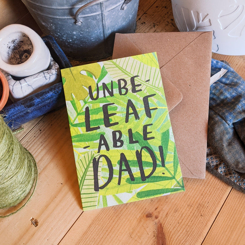Plant Dad Father's Day Card