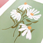 Original Painting - White Cone Flowers