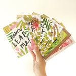 Leaf-Laden Card Bundle