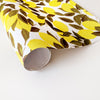 illustrated lemon wrapping paper sheet