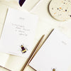 British Bee Jot Pad - Annie Dornan-Smith Design