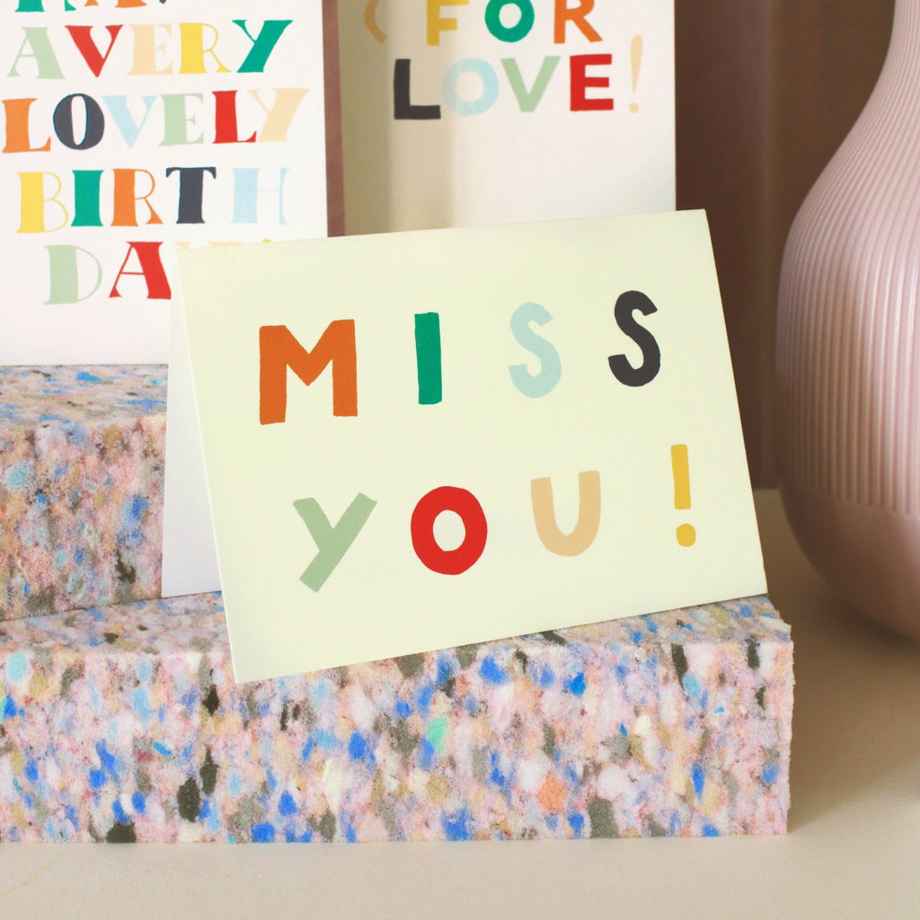Miss You! Friendship Card