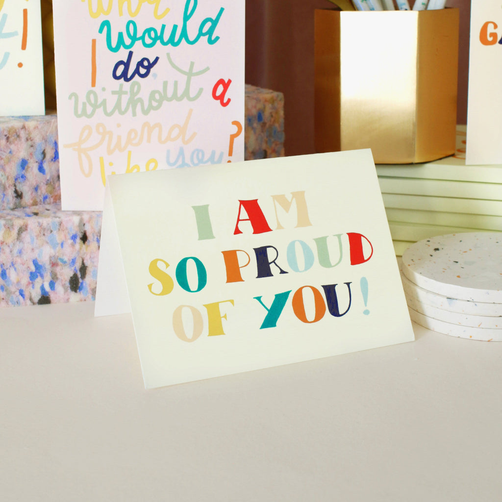 So Proud of You Congratulations Card - Annie Dornan-Smith Design