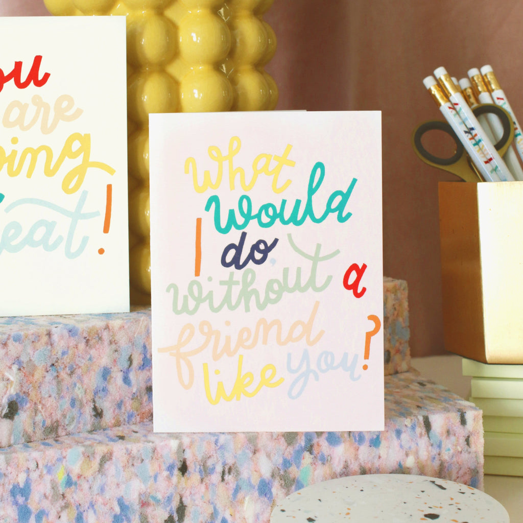 Friend Like You Thank You Card - Annie Dornan-Smith Design