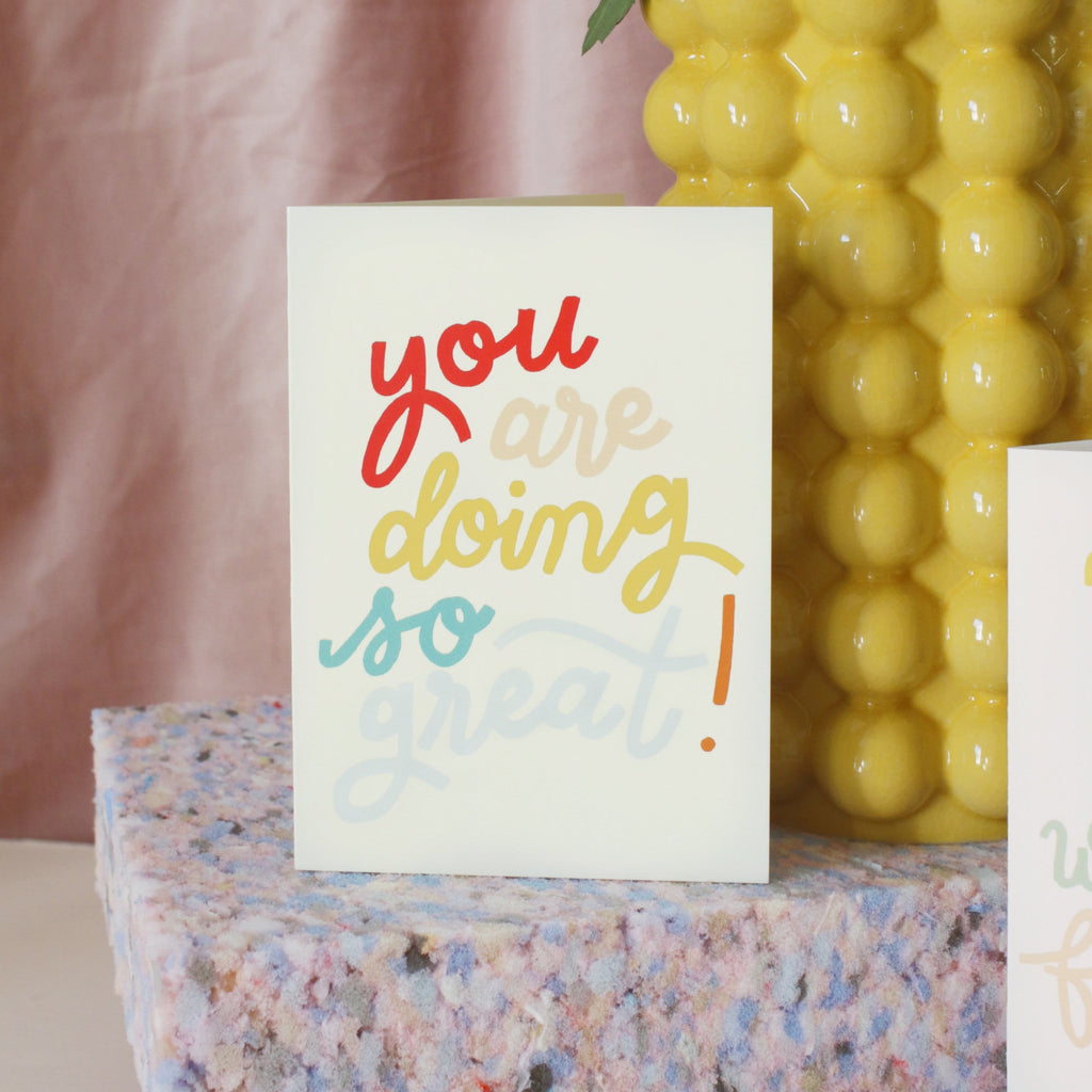 Doing So Great! Encouragement Card
