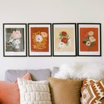 botanical blooms collection - A3 prints