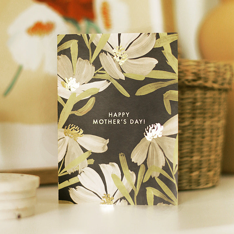 Illustrated Floral Mother's Day Card - Annie Dornan-Smith Design
