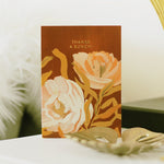 Illustrated Floral Thank You Card - Annie Dornan-Smith Design