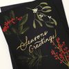 gold foiled botanical greetings card
