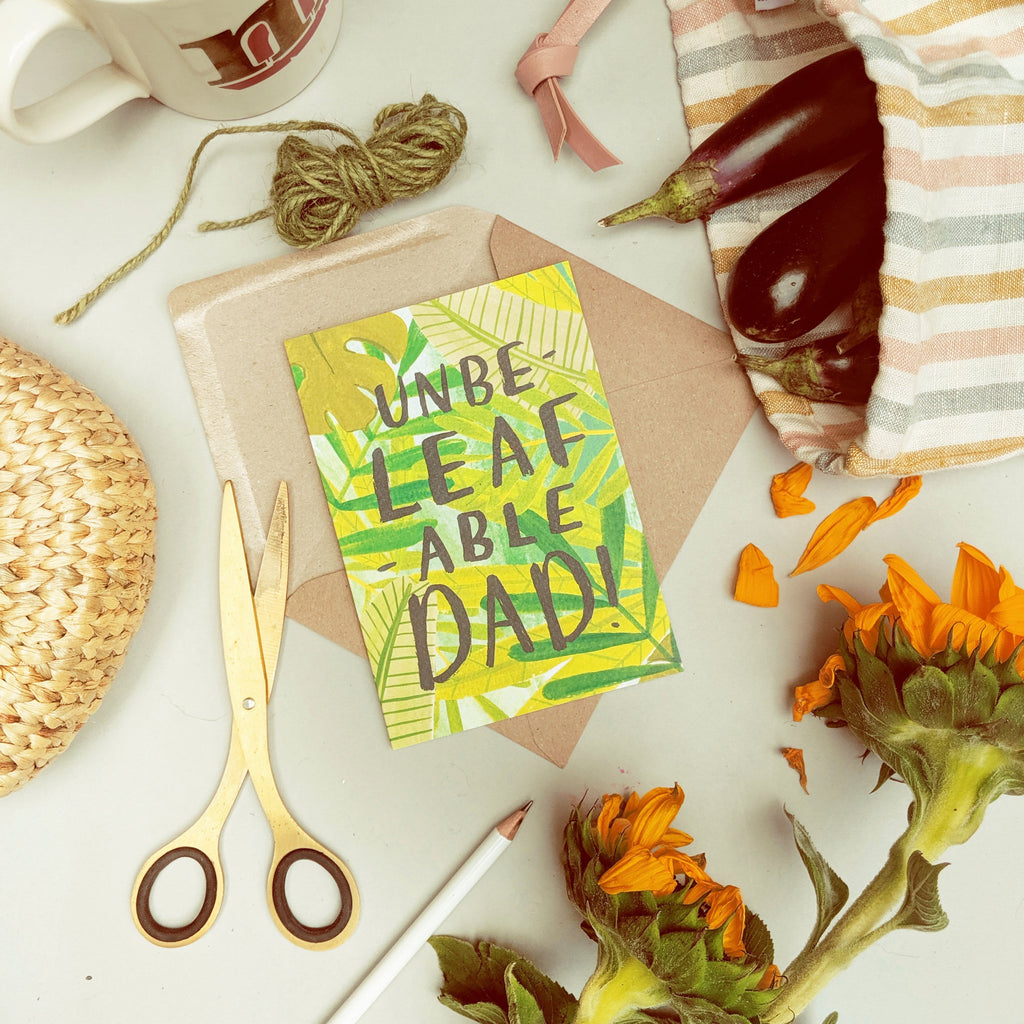Plant Dad Father's Day Card - Annie Dornan-Smith Design