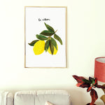 Lemon Wall Art