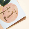 You're A Peach Thank You Card - Annie Dornan-Smith Design