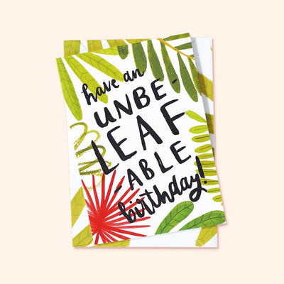 Birthday card for Plant Lovers