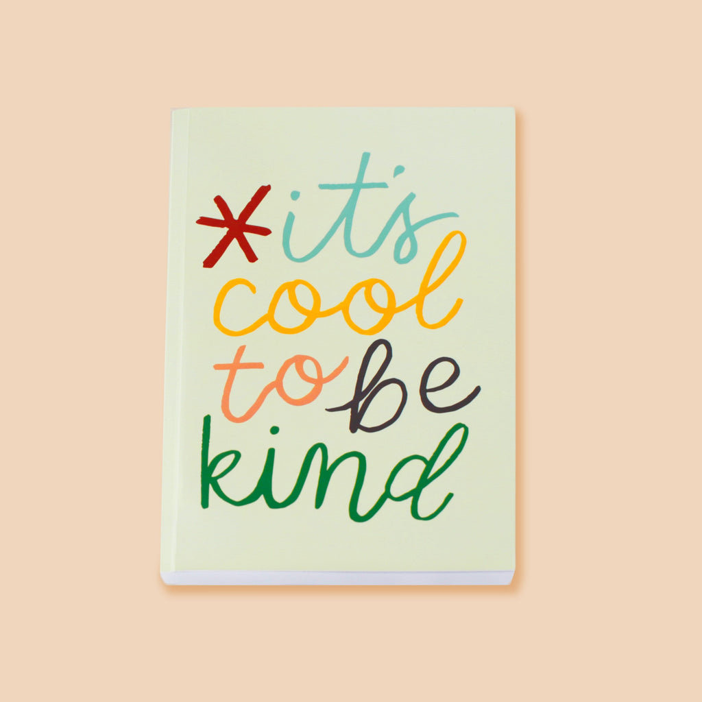 Cool to Be Kind Journal Notebook - Annie Dornan-Smith Design