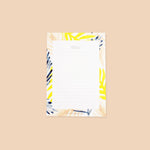 Palm Leaf Pattern Jot Pad - Annie Dornan-Smith Design