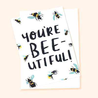 Valentine's card for bee lovers