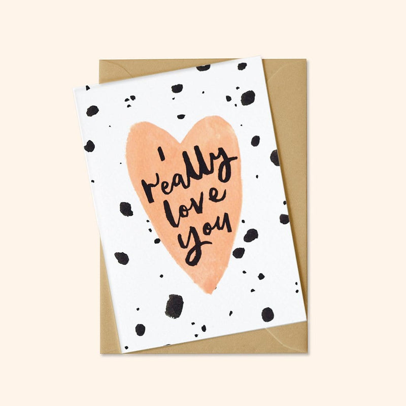 illustrated  valentine's card