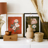 botanical floral home decor