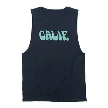 Men's Retro Wave Type Tank