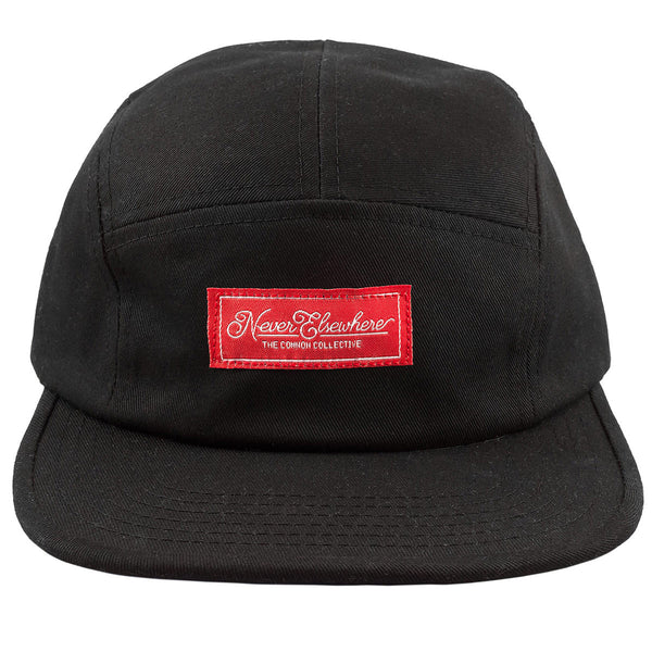 Never Elsewhere Camp Hat Black