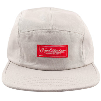Never Elsewhere Camp Hat Lt. Grey
