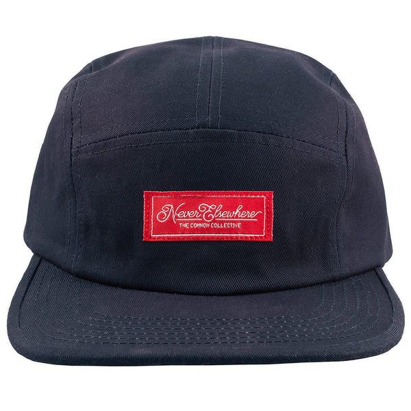 Never Elsewhere Camp Hat Navy