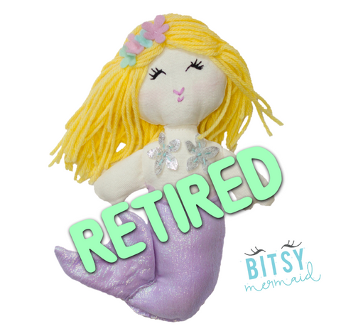 Retired LIMITED EDITION Natalie the Mermaid (Made to order ships 1-2 weeks)