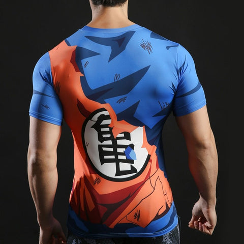 Goku Battle Torn Armor