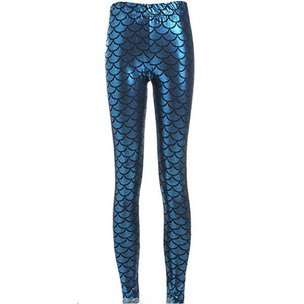 Mermaid Leggings Style 10 - Novelty Force