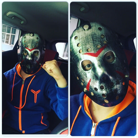 Metallic Jason Mask