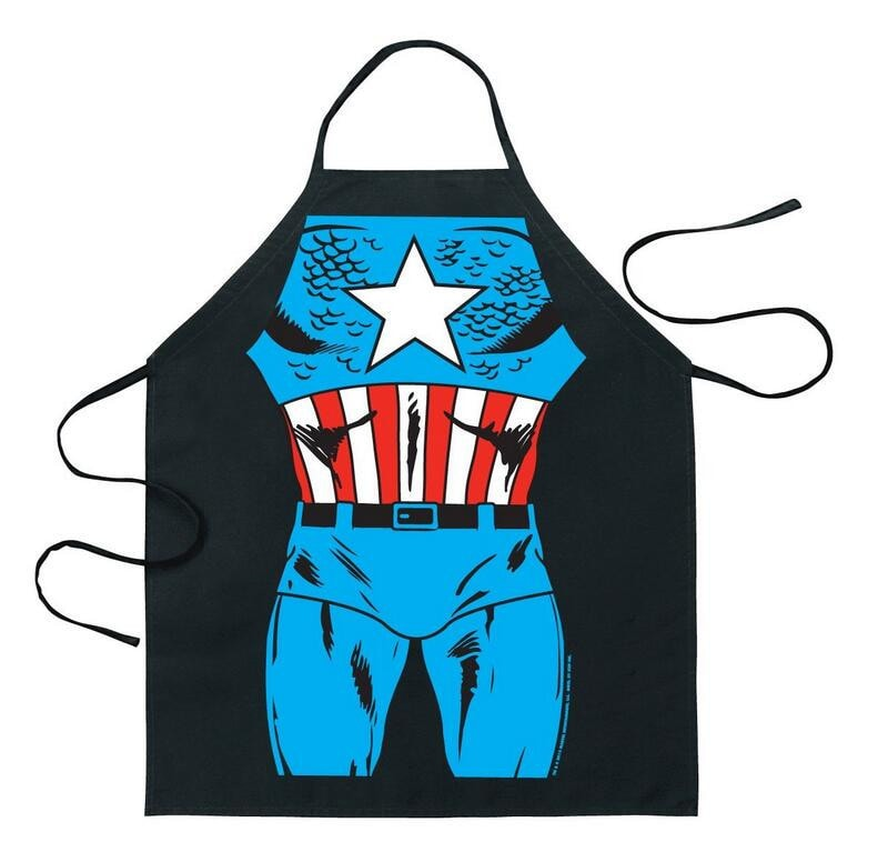 Captain America Apron - Novelty Force