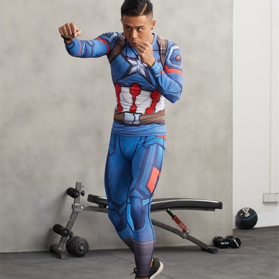 Captain America Leggings - magilook deep cleansing masks