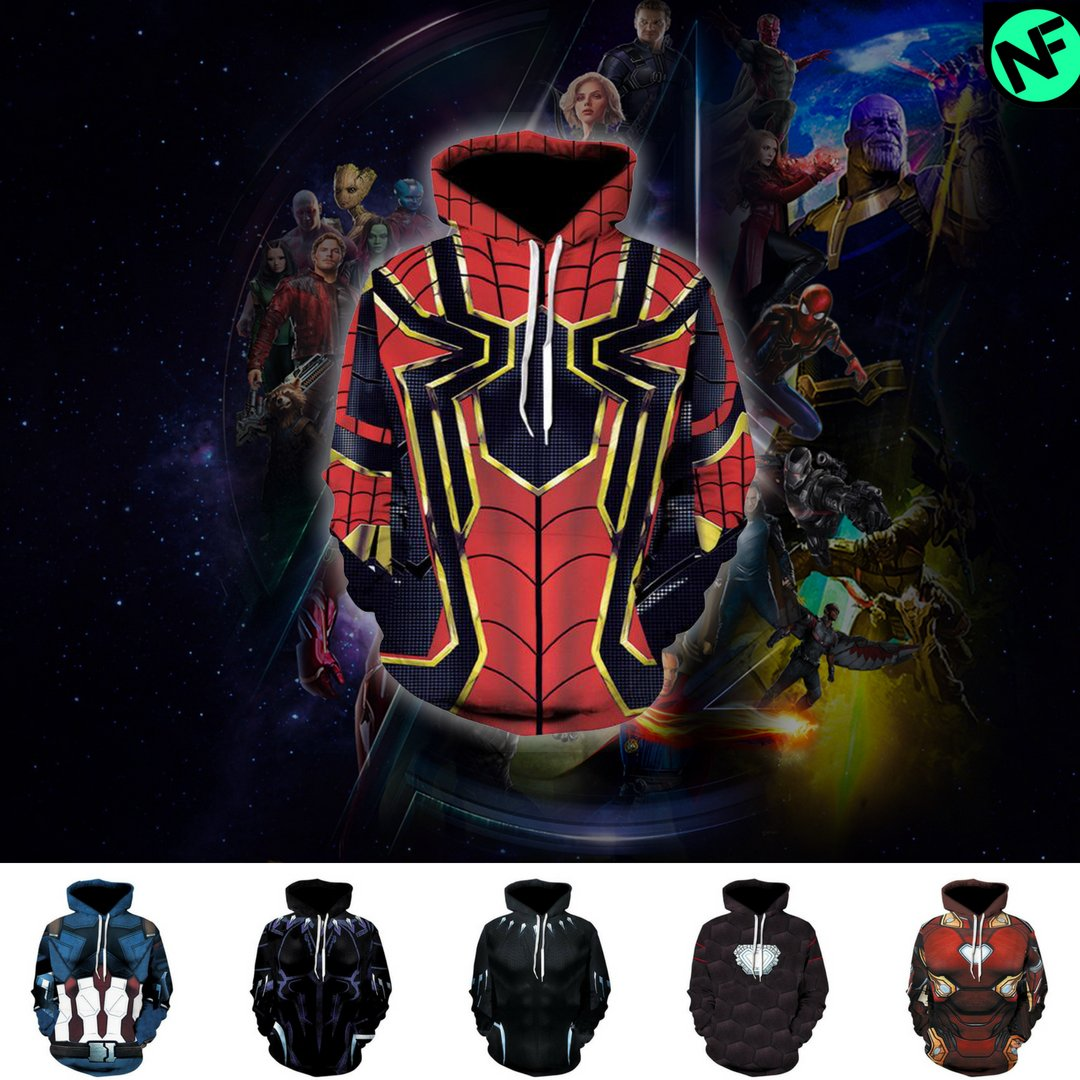 Infinity War Hoodie Collection