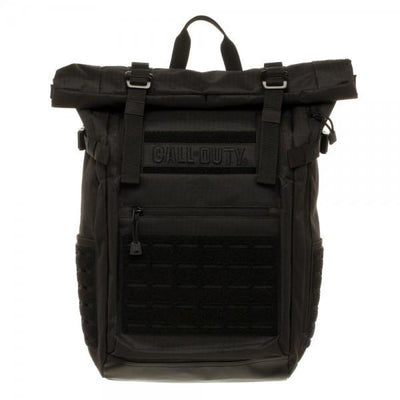 Call of Duty Black Military Roll Top Backpack with Laser Cuts - magilook deep cleansing masks