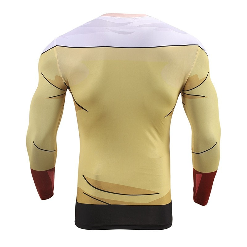 One Punch Man Long Sleeve Compression Shirt