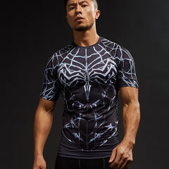 Light Web Symbiote Compression Shirt
