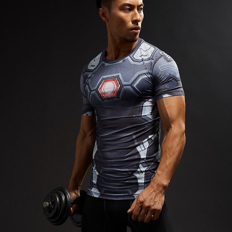 War Machine Civil War Compression Shirt
