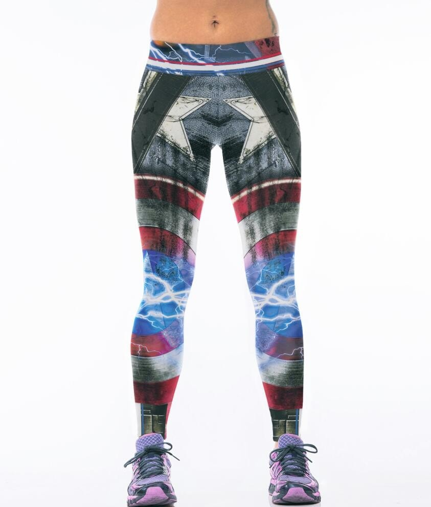 Captain America War Leggings