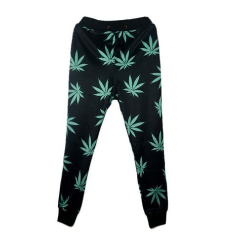 Weed 3D Print Joggers