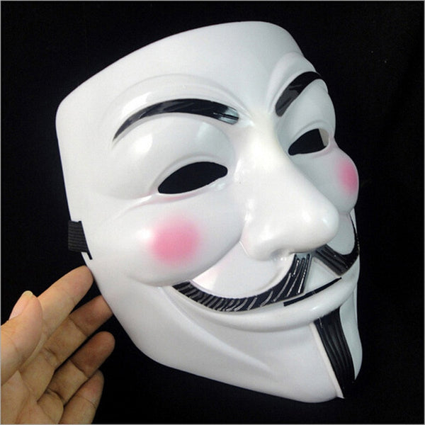Anonymous Mask (White or Yellow)